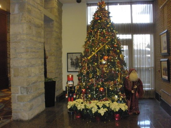 Hyatt Regency Calgary: Beautiful Christmas tree