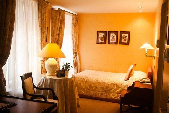 Stikliai Hotel and Restaurant: Single room