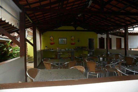 Hotel Albatroz: Onde serviam o café da manhã