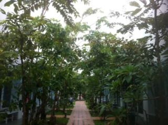 Khun Chaweng Resort: courtyard by day