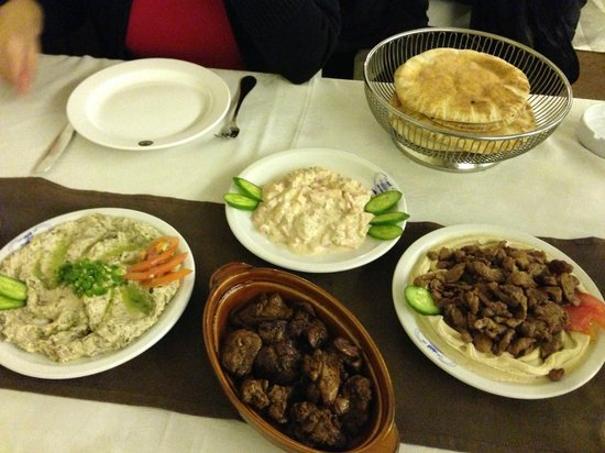 Cold and hot mezze picture of abu ahmad orient for Ahmads persian cuisine
