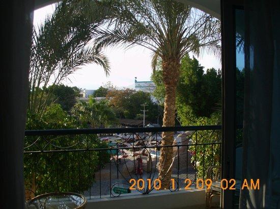 Sultan Gardens Resort: vista dalla camera 143