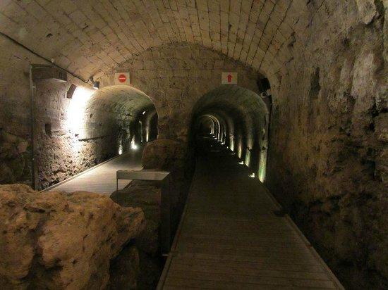 Akko Old Town: Il tunnel dei templari