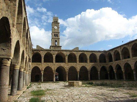 Akko Old Town: Il caravanserraglio