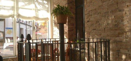 Restaurante Hotel Rio Piedra: Detalle del comedor