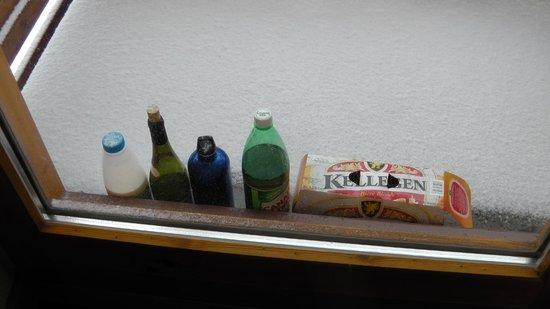Levanna: Balcony fridge 