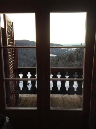 Hotel Bewallerhof: camera con vista