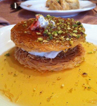 Nai  Paris: Dessert aux cheveux d'ange : 8€ (et délicieux)