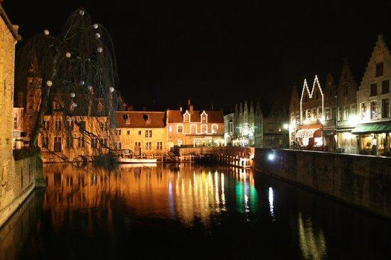 Hotel Bourgoensch Hof: Canal view near hotel