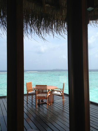 Adaaran Prestige Water Villas: Our favourite spot...