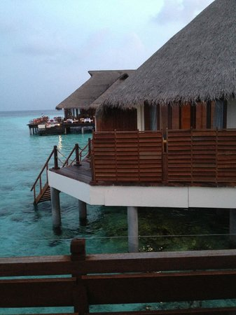 Adaaran Prestige Water Villas: from the balcony of room 803