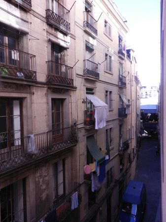 Hesperia Ramblas: View from room 307