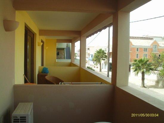 Porto Antigo Residence: balcon