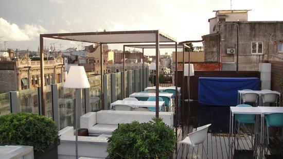 Axel Hotel Barcelona & Urban Spa: Terraço e Piscina