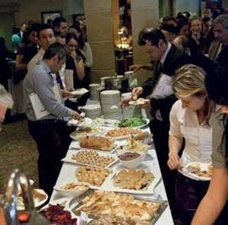 Le Meridien St. Julians: The Buffet following an event