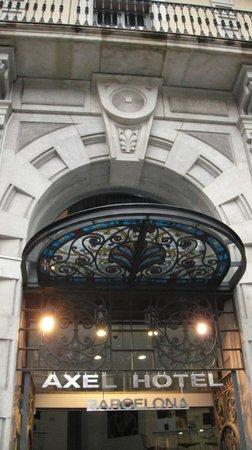 Axel Hotel Barcelona & Urban Spa : Entrada Principal