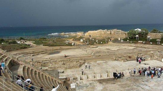 Theatre at Caesarea National Park: Panorama