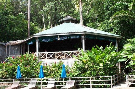 Jungle Bay, Dominica: Jungle Bay Resort - Restaurant