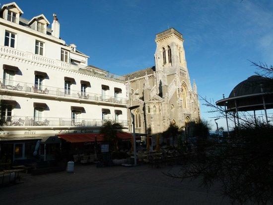 Hotel de l'Océan : facade hôtel