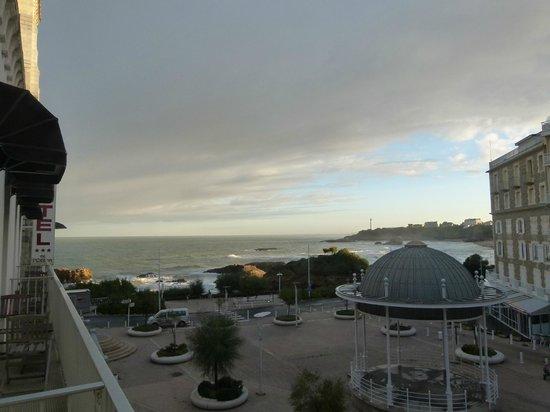 Hotel de l'Ocean: vue de la chambre