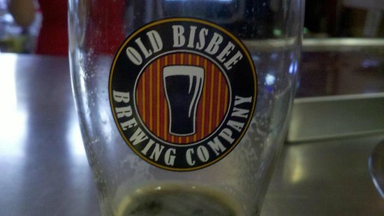 Old Bisbee Brewing Company : yummo, stout!