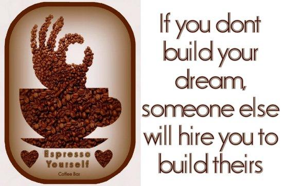 Espresso Yourself Coffee Bar: Express yourself