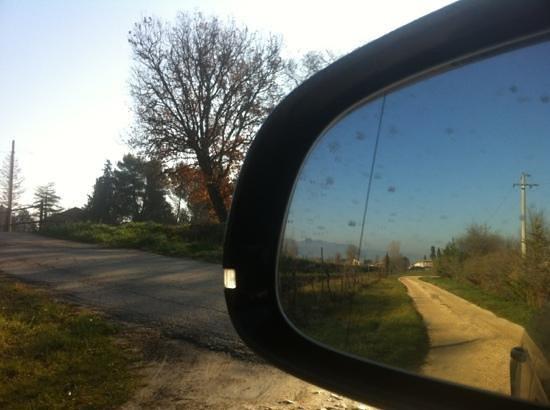 Agriturismo Tenuta Stella: strada d'accesso