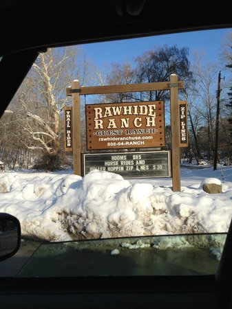 Rawhide Ranch Activities: Easy to see from the road