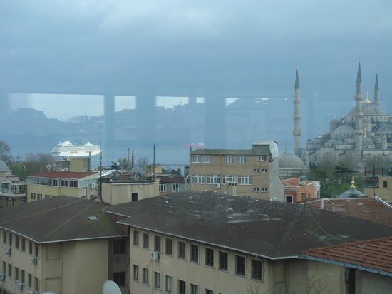 Adamar Hotel: Vista desde el restaurante del hotel