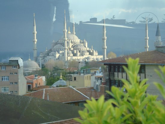 Adamar Hotel: Vista desde el restaurante