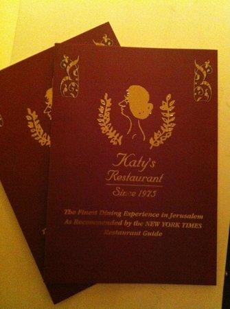 Katy's : Historic Dining