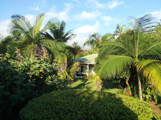 Les Avirons, Reunion: Chez Mamie Coté jardin