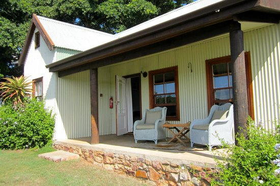 Camp Figtree: The boys' terrace