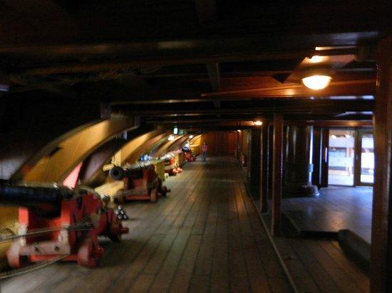 Het Scheepvaartmuseum: בתוך הספינה