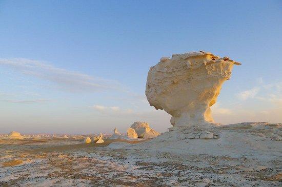 Ahmed Safari Camp & Hotel: White Desert at sunrise