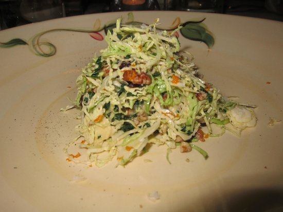 Blue Door Kitchen & Garden: Kale and Brussels Sprouts Salad