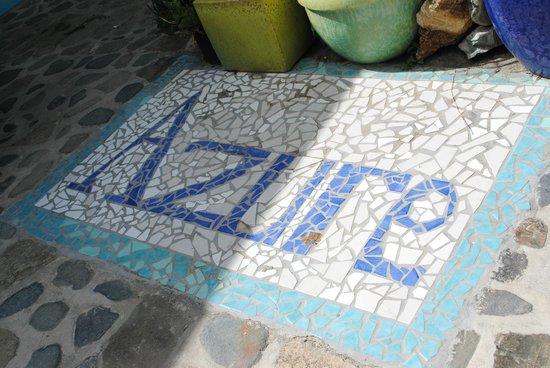 Azure Hotel & Art Studio: In Courtyard