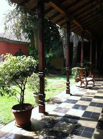 Hotel Casa Robleto: Casa Robleto interior courtyard