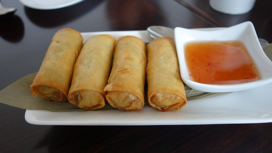 Thai Society: Spring Rolls were hot, crunchy and delicious.
