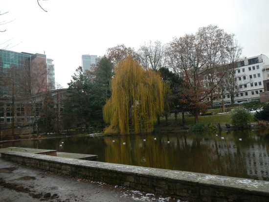Frankfurt on Foot Walking Tours: The park built along the old city wall