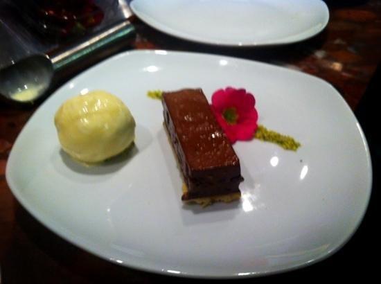 Caviars of Bawtry: chocolate & pistachio torte