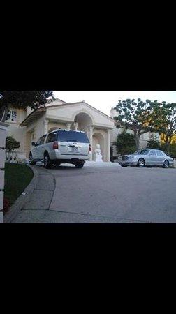 Hollywood Hills: Beckham's house