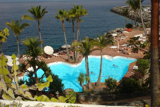 Piscina superiore picture of hotel jardin tropical for Jardin tropical costa adeje