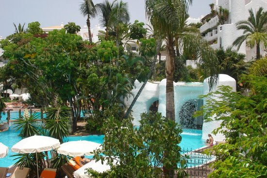 Paella picture of hotel jardin tropical costa adeje for Jardin tropical