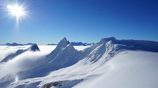 Rk Heliski: On top of the world!