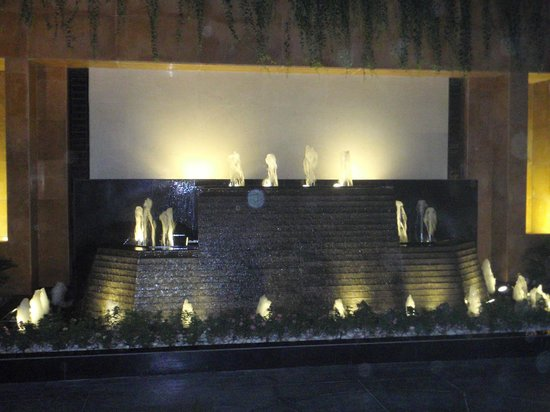 Radisson Blu Hotel Ahmedabad: Waterfall