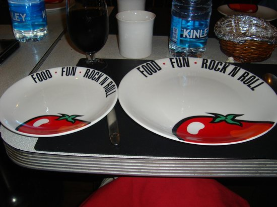 Tomato's: Plates