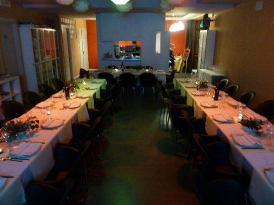 PeR - Il Parco dell'Energia Rinnovabile: La sala ristorante