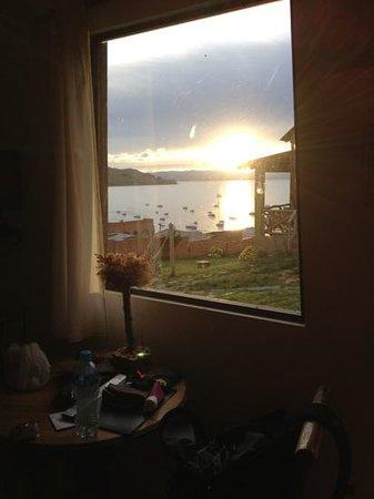 La Aldea del Inca : view from our room