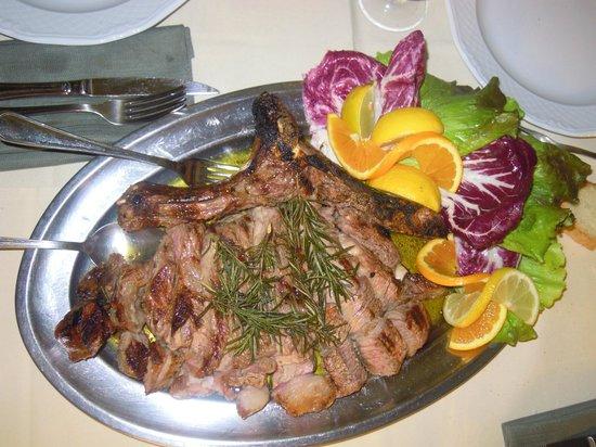 Osteria del Castagno: Tagliata